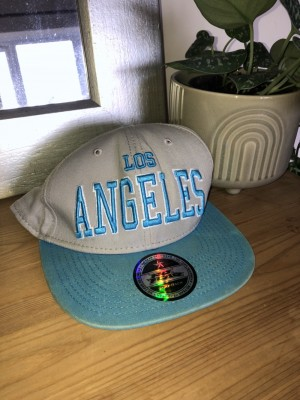 Lost Angeles SnapBack with original sticker on front