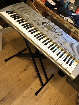 Farfisa piano with stand