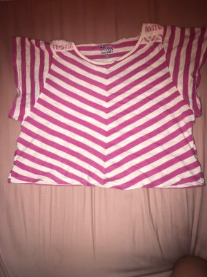 pink and white t-shirt Xs/Tp/Xp (5)