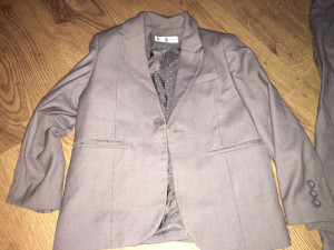 Marks and Spencer's child's grey suit