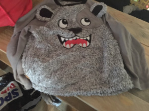 Furry boys top