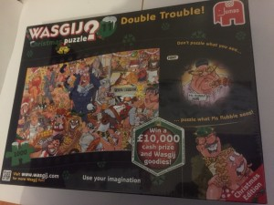 WASGIJ Christmas puzzle £5 on sale on other websites