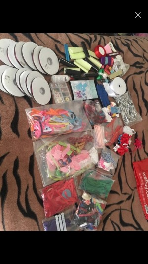 Bow making joblot