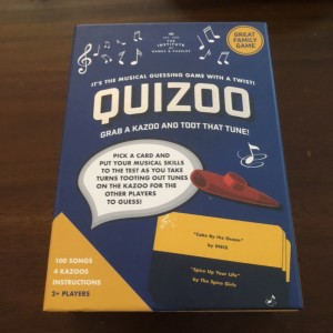Quizoo Musical Guessing Game Grab A Kazoo & Toot Tune Family Fun Activ