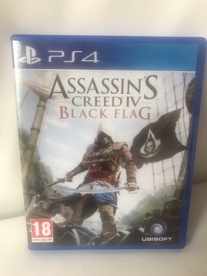 Assessin's Creed IV Black Flag PS4 game