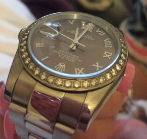Rolex Date Just diamond bezel and diamond 6. dial