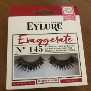 Eylure pre glued lashes.