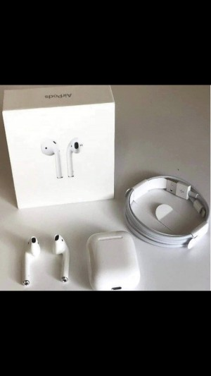 Genuine Second generation AirPods come sealed the pictures are my pers
