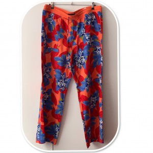 Stunning Marks&Spencer Floral Wide Leg Trousers