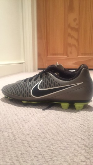 Nike Magista- Black, grey and green- (used)- Size 9 UK- 'good' clean condition