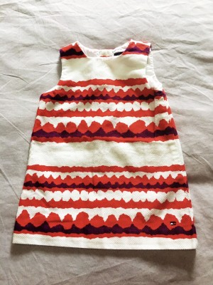 Tommy Hilfiger dress 12 months, worn once