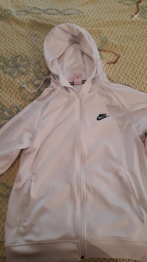 Men's  White nike jacket