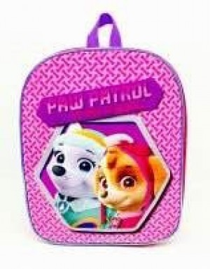 paw patrol girls ruck sack