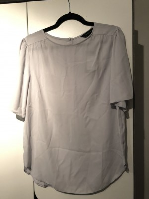 New Look light grey size 12 top