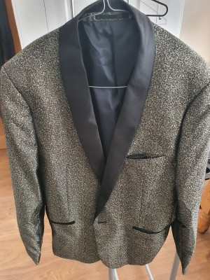 French Connection Sequin Blazer Size 42