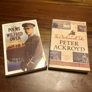 Set of 2 New Books - The Poems of Wilfred Owen (Hogarth Poetry) + The