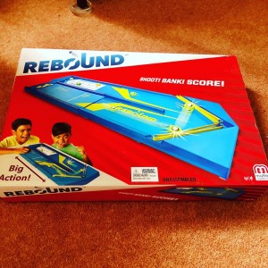 Rebound Board Game Brand New In Box And Sealed By Mattel Fun Family Ac