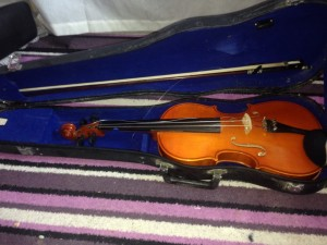 First ever violin with CD and book