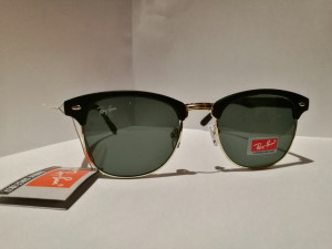 Ray ban clubmaster sunglasses  black £60