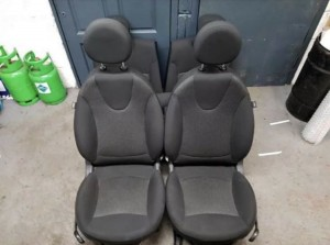 Mini r56 seats front and back