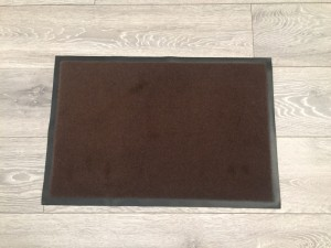 Door mat 40x60cm coffee colour. Brand new