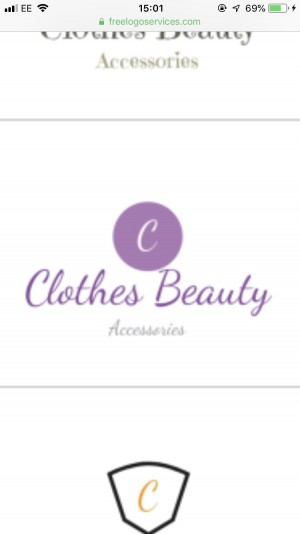Clothes, Beauty and Accessories