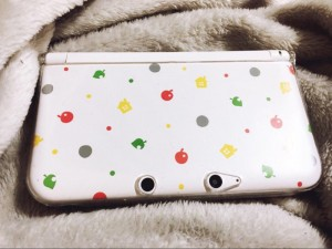 Limited edition Animal crossing Nintendo 3DS XL