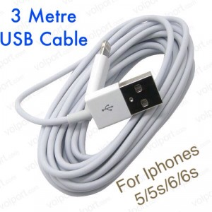 3M iPhone USB Charger Cables