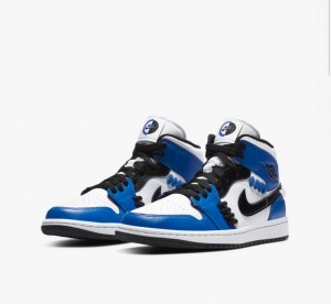 Nike Air Jordan 1 Mid SE Sisterhood 9.5UK 10.5USM 12WUS DS