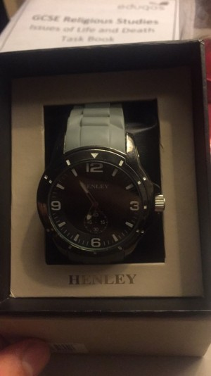Men's Henley watch