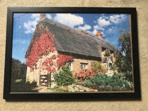 Puzzle picture with Nice and quality frame.