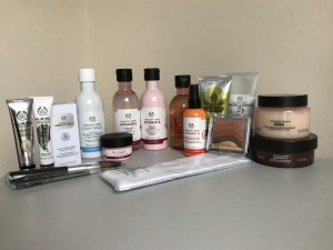 Body Shop products -all at reduced prices