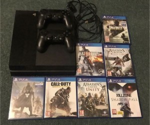 PlayStation 4 and 7 games