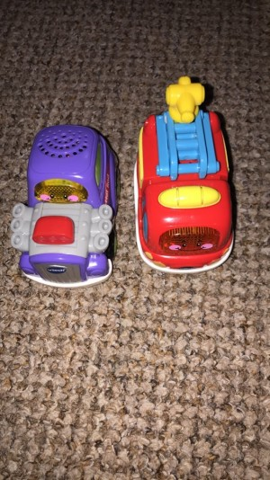 VTECH toot toot drivers cars x2