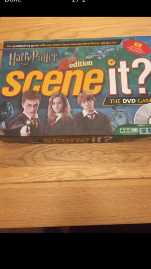 Scene it? Harry Potter Board Game (2nd Edition)