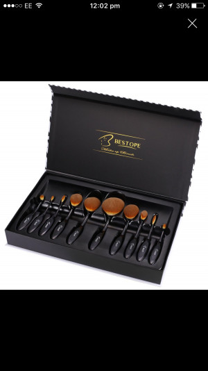 Bestope makeup brushes brand new still in box
