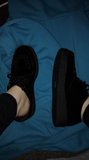 BRAND NEW CREEPERS SIZE 10