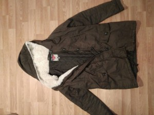 Lee Cooper khaki parka UK 10