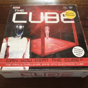 The Cube TV Family Challenge Board Game with Electronic Cube by Ideal