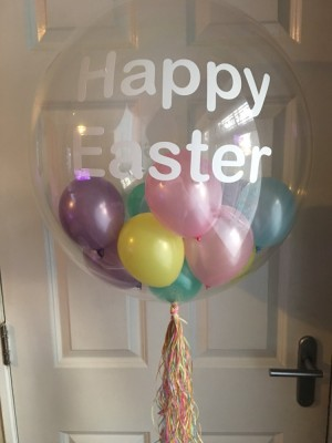 Personalised balloons £25