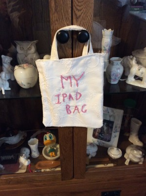 Homemade iPad bag