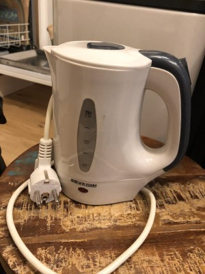 Travelling kettle