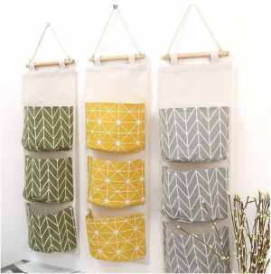 Wall Storage (yellow, green or grey)