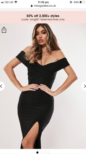 Gorgeous Missguided maxi dress