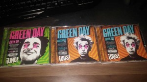Greenday cds