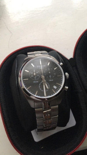 Tissot stainless steel mens watch