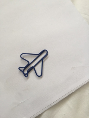 plane paperclip