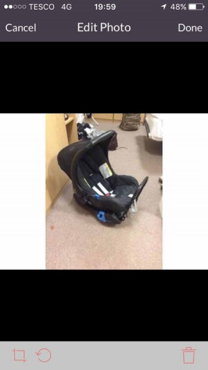 britax Baby Car Seat and base