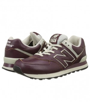 New Balance 574 Men's Leather Sneakers