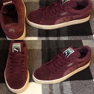 Puma suedes trainers